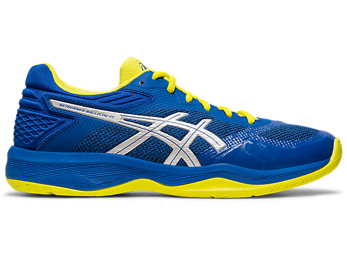Alternative image view of NETBURNER BALLISTIC FF, ASICS BLUE/SILVER