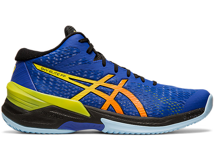 Alternative image view of SKY ELITE FF MT, ASICS BLUE/SOUR YUZU