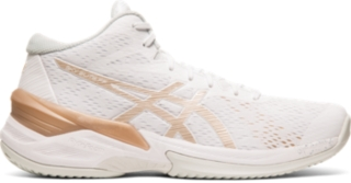 white asics volleyball shoes