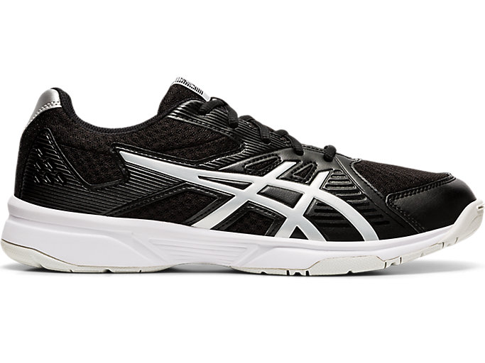 Men's Upcourt 3   Black/Pure Silver   Volleyball   ASICS