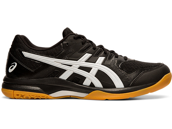 Men S Gel Rocket 9 Black White Volleyball Asics