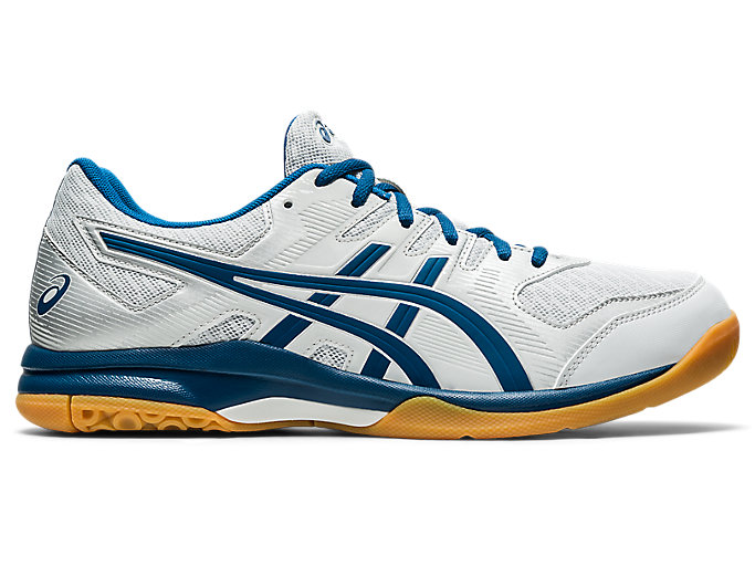 Blue Asics Gel Rocket 9 Mens Indoor Court Shoes