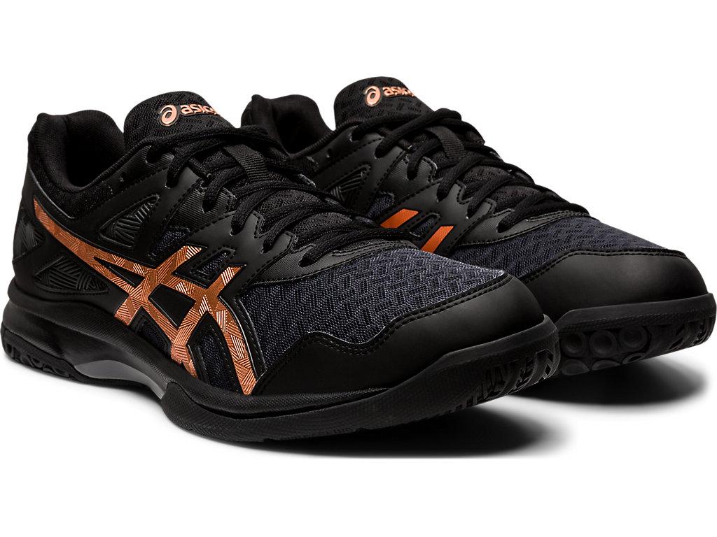 Men's GEL-TASK 2   Black/Pure Bronze   Indoor Sports   ASICS Outlet