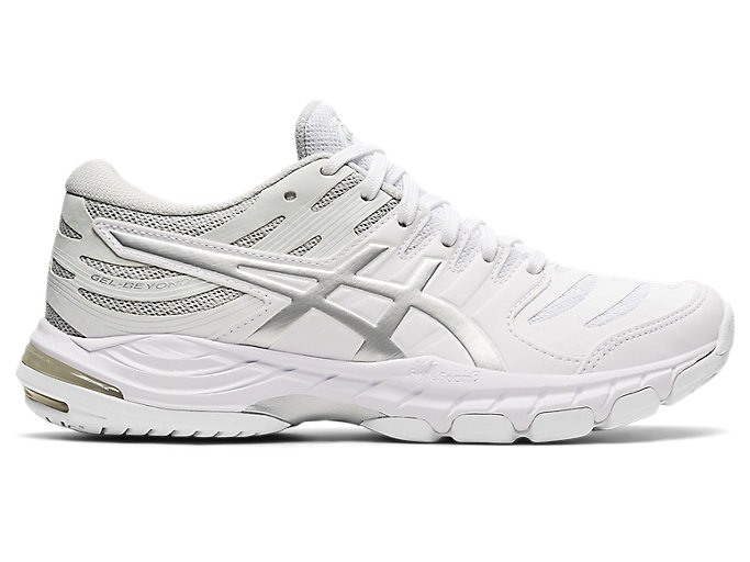 Women's GEL-BEYOND 6   White/Pure Silver   Volleyball   ASICS