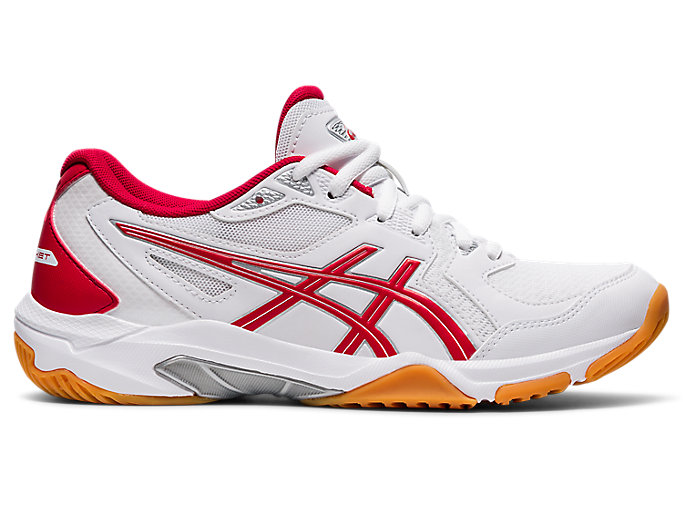 Women's GEL-ROCKET 10 | White/Classic Red | Volleyball | ASICS