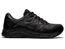 Men's GEL-CONTEND 7 (4E) | Black/Carrier Grey | Running Shoes | ASICS