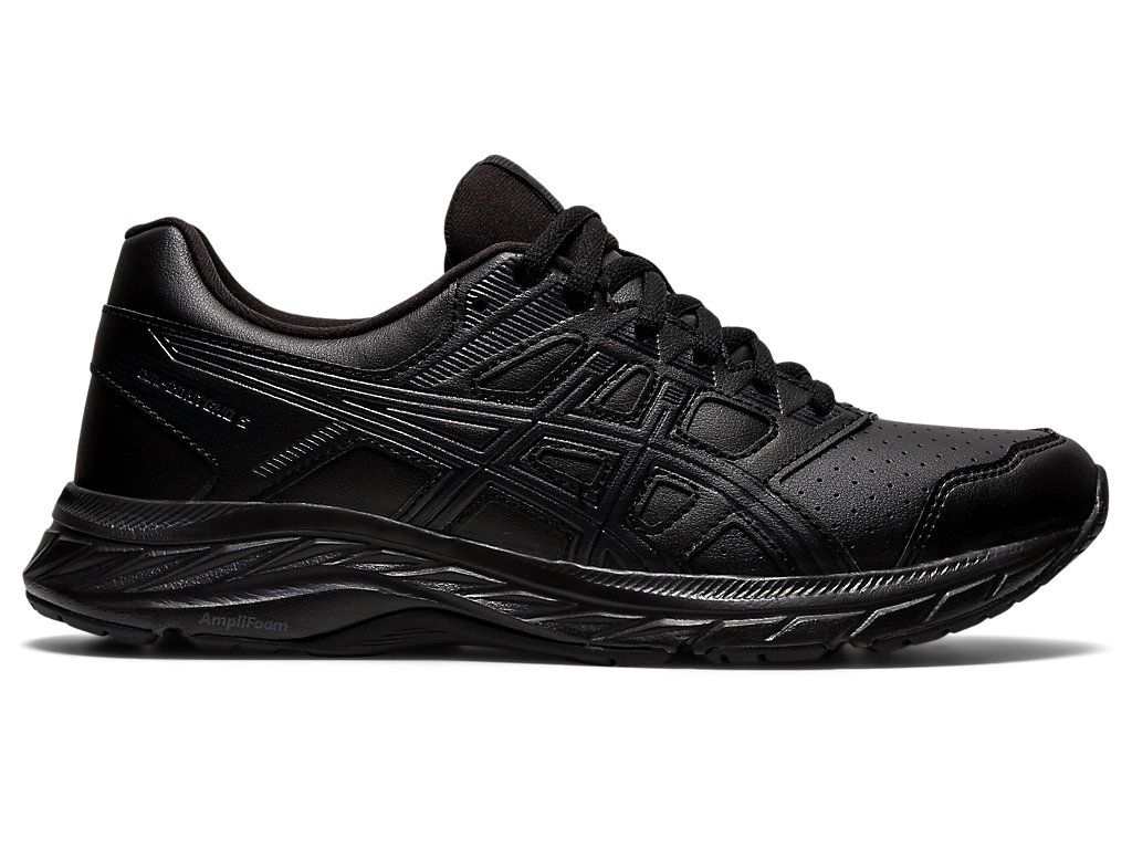 Women's GEL-CONTEND 5   Black   Running Shoes   ASICS