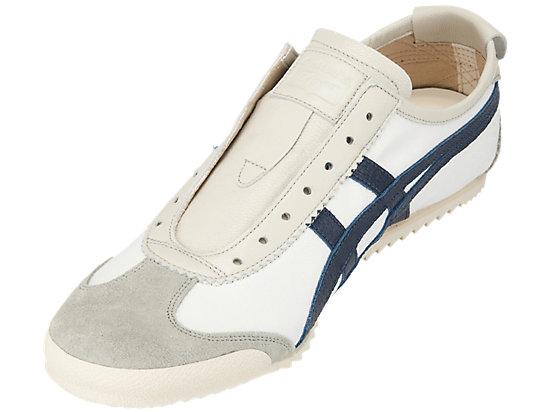 MEXICO SLIP-ON DELUXE WHITE/INDIGO BLUE