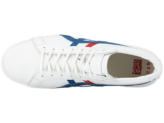 FABRE BL-L DX WHITE/ASICS BLUE