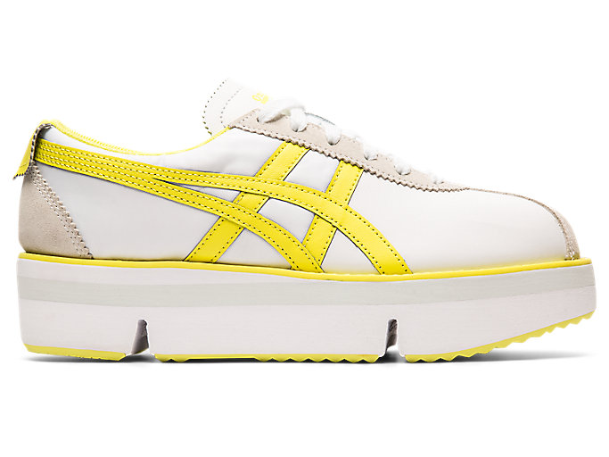 Alternative image view of POKKURI SNEAKER PF, WHITE/SOUR YUZU