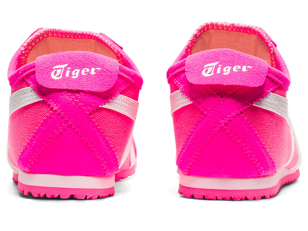 Womens MEXICO 66 SLIPONHot PinkWhiteShoesOnitsuka Tiger
