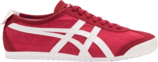 onitsuka tiger mexico 66 white black red homme
