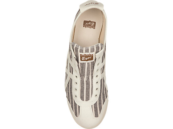 MEXICO 66 SLIP-ON BROWN STRIPES/WHITE