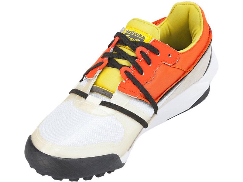 ADMIX RUNNER SLIP-ON WHITE/ORANGE 9 FL