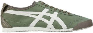 onitsuka tiger mexico 66 black leather green