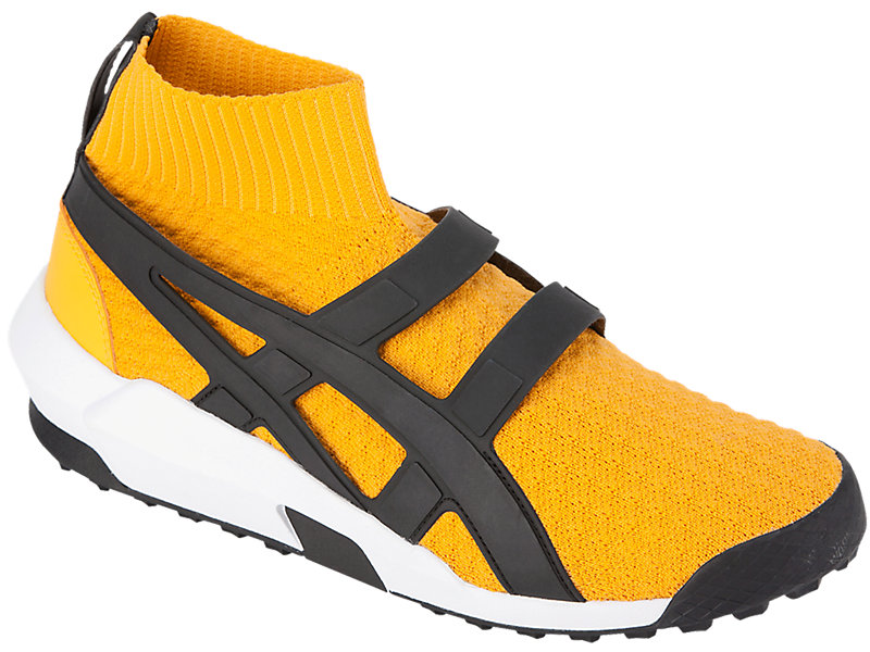 ANDREA POMPILIO KNIT TRAINER TIGER YELLOW/BLACK 5 FR