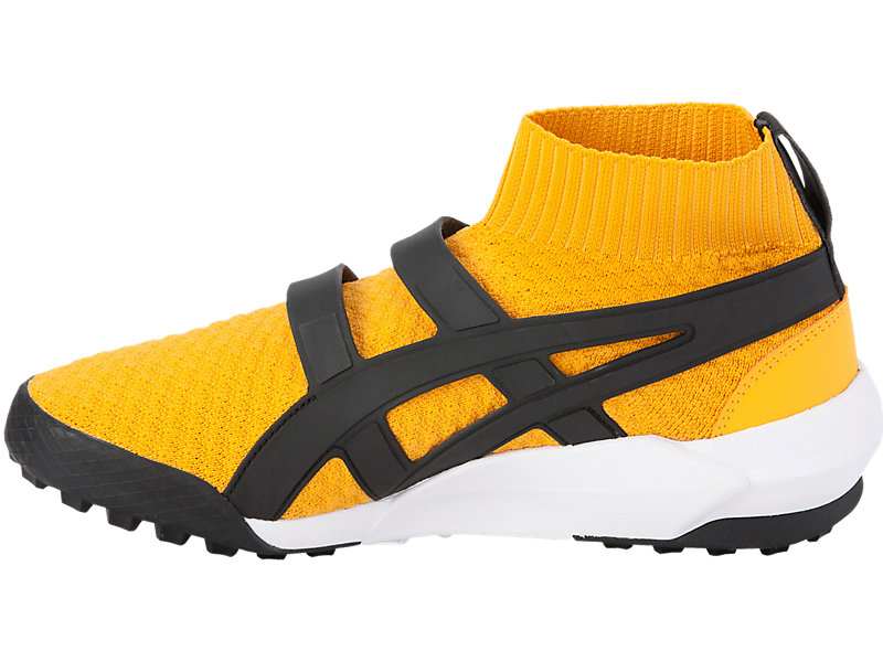 ANDREA POMPILIO KNIT TRAINER TIGER YELLOW/BLACK 13 LT