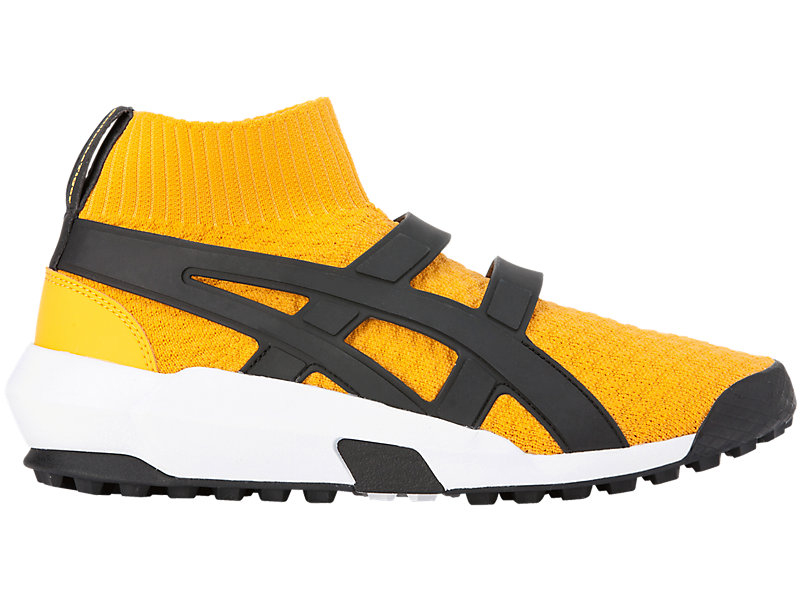 ANDREA POMPILIO KNIT TRAINER TIGER YELLOW/BLACK 1 RT