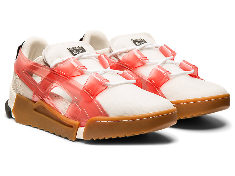 BIG LOGO RUNNER SANDAL CREAM/FIERY RED 5 FR