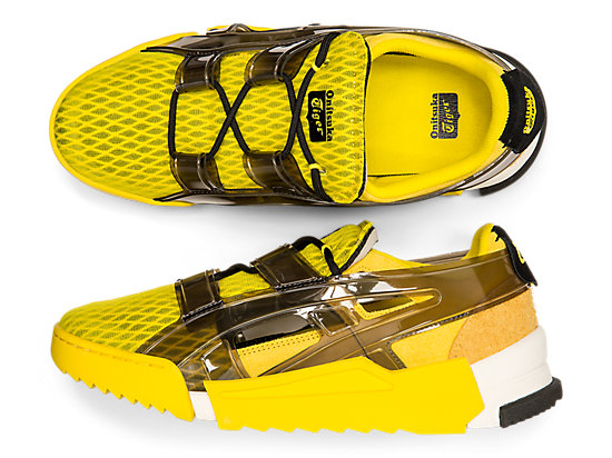 BIG LOGO RUNNER SANDAL YELLOW