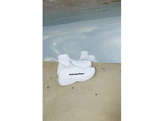 P-TRAINER KNIT WHITE/WHITE