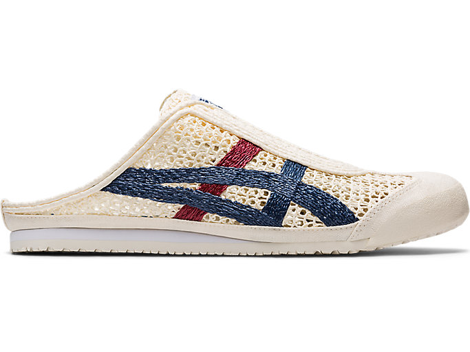 Alternative image view of MEXICO 66 SABOT, Cream/Mako Blue