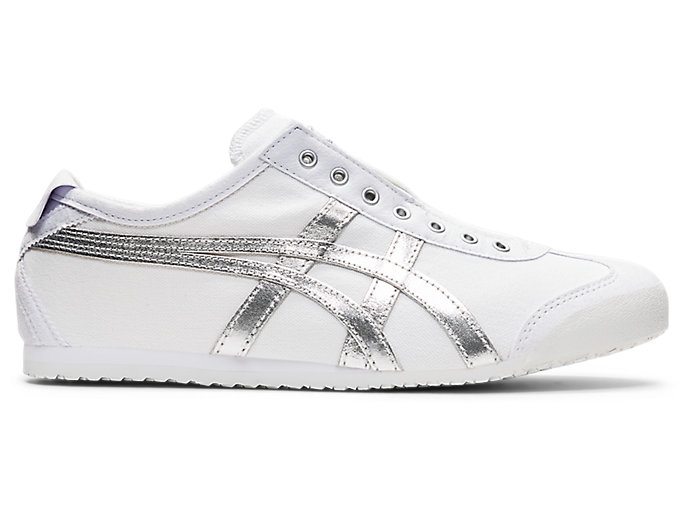 Alternative image view of MEXICO 66 SLIP-ON, White/Pure Silver