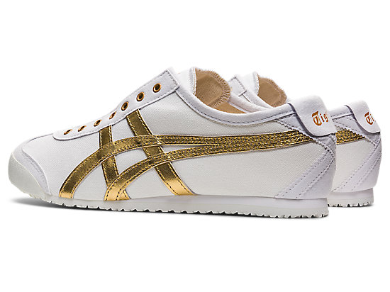 MEXICO 66 SLIP-ON WHITE/PURE GOLD