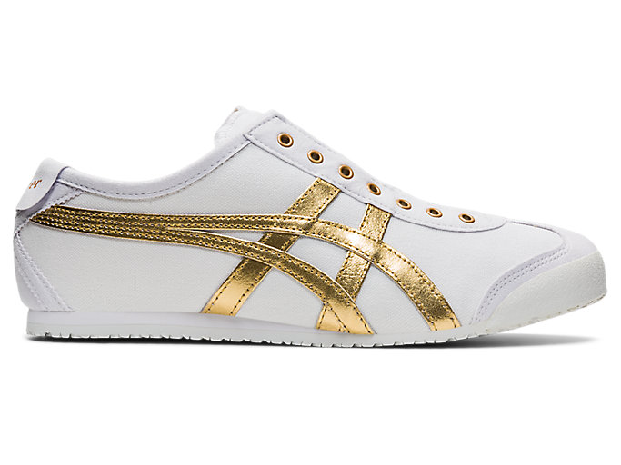 Alternative image view of MEXICO 66 SLIP-ON, White/Pure Gold