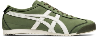 onitsuka tiger mexico 66 beige green red silver