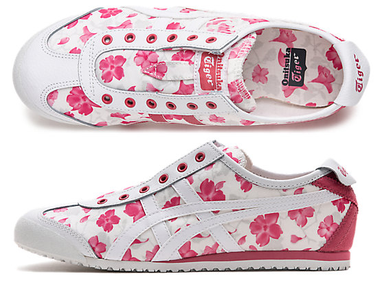 MEXICO 66 SLIP-ON LITMUS PINK/WHITE