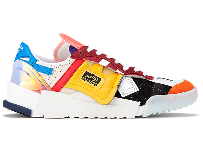 Alternative image view of D-TRAINER BORO, WHITE/TIGER YELLOW