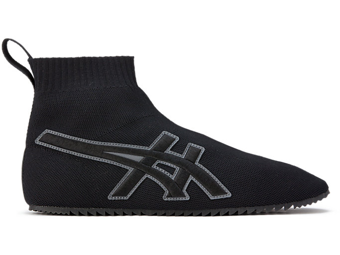 Alternative image view of TAI-CHI-REB SOCK, Black/Black
