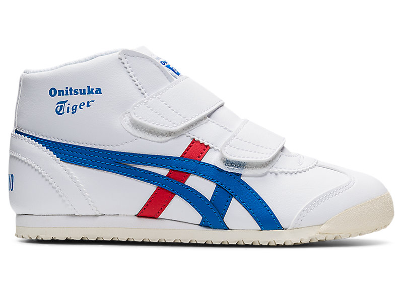 MEXICO MID-RUNNER PS WHITE/DIRECTOIRE BLUE 1 RT