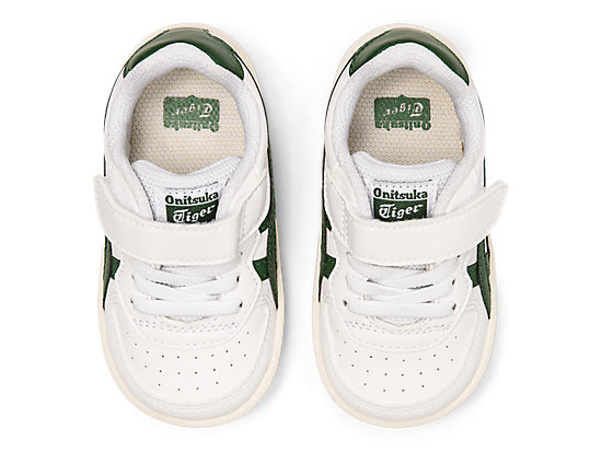 GSM TS WHITE/HUNTER GREEN