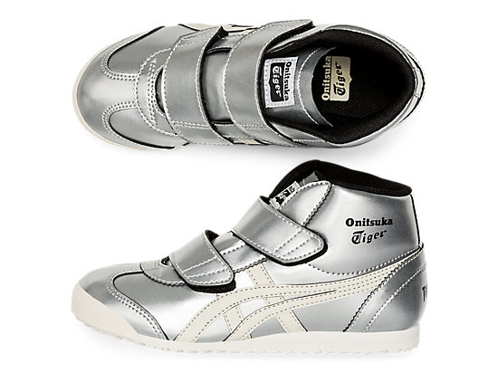 MEXICO MID-RUNNER PS WHITE/SILVER