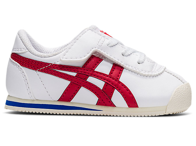Alternative image view of TIGER CORSAIR TS, WHITE/CLASSIC RED