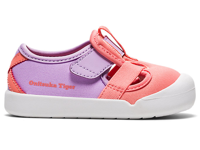 Alternative image view of KIDS MEXICO 66 SANDAL TS, Guava/Lilac Tech