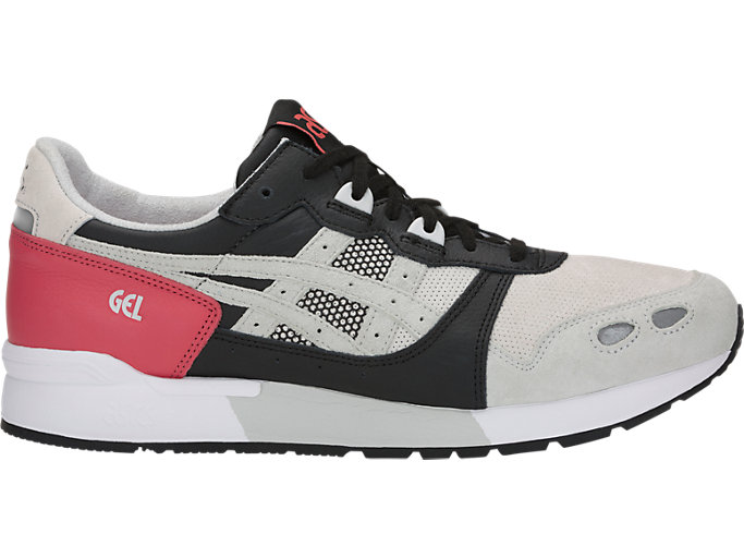 Right side view of GEL-LYTE, ROUGE/GLACIER GREY