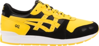 yellow asics