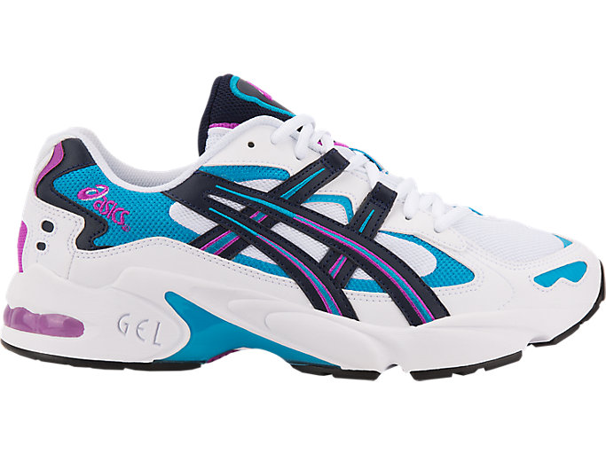 Alternative image view of GEL-KAYANO 5 OG, WHITE/MIDNIGHT
