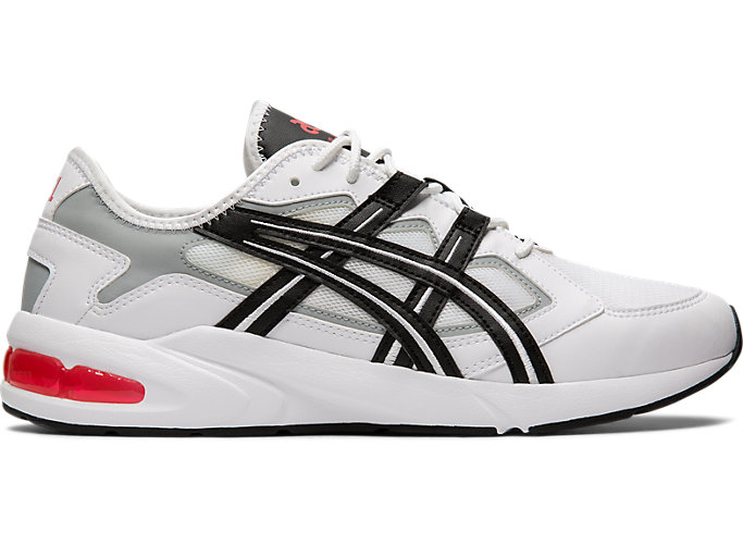 Right side view of GEL-KAYANO 5.1, WHITE/BLACK