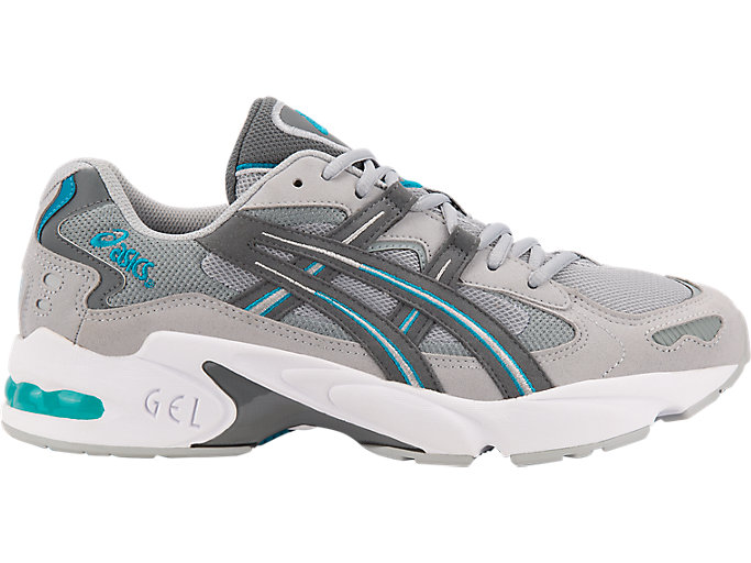 Alternative image view of GEL-KAYANO 5 OG, MID GREY/STEEL GREY