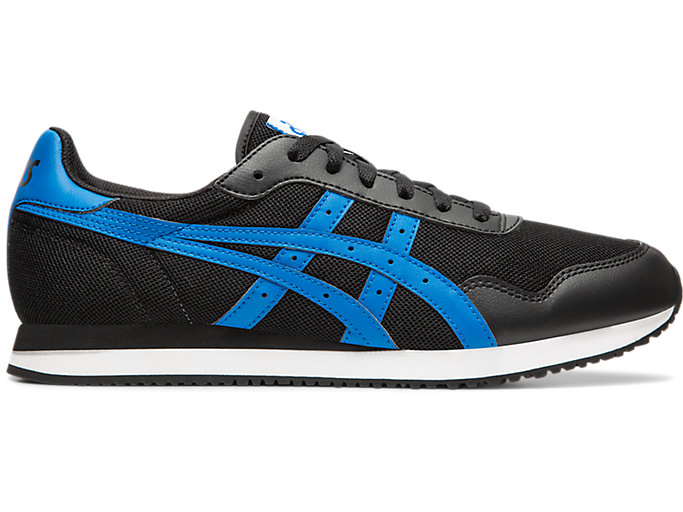 Alternative image view of TIGER RUNNER™, Black/Electric Blue