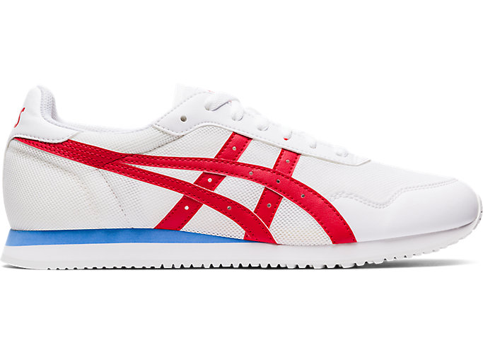 Alternative image view of TIGER RUNNER™, White/Classic Red