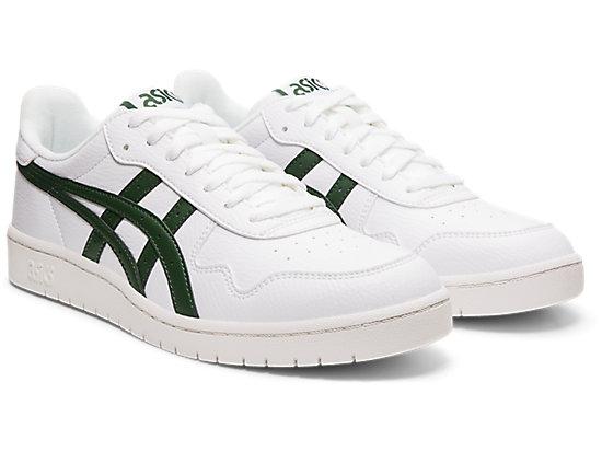 JAPAN S WHITE/HUNTER GREEN