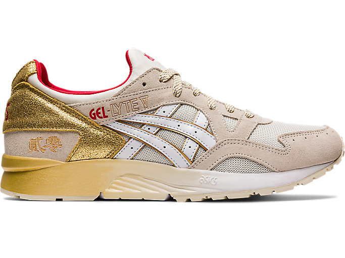 Alternative image view of GEL-LYTE V, CREAM/WHITE