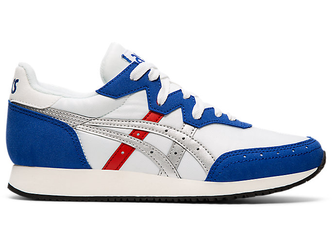 Alternative image view of TARTHER OG, WHITE/ASICS BLUE