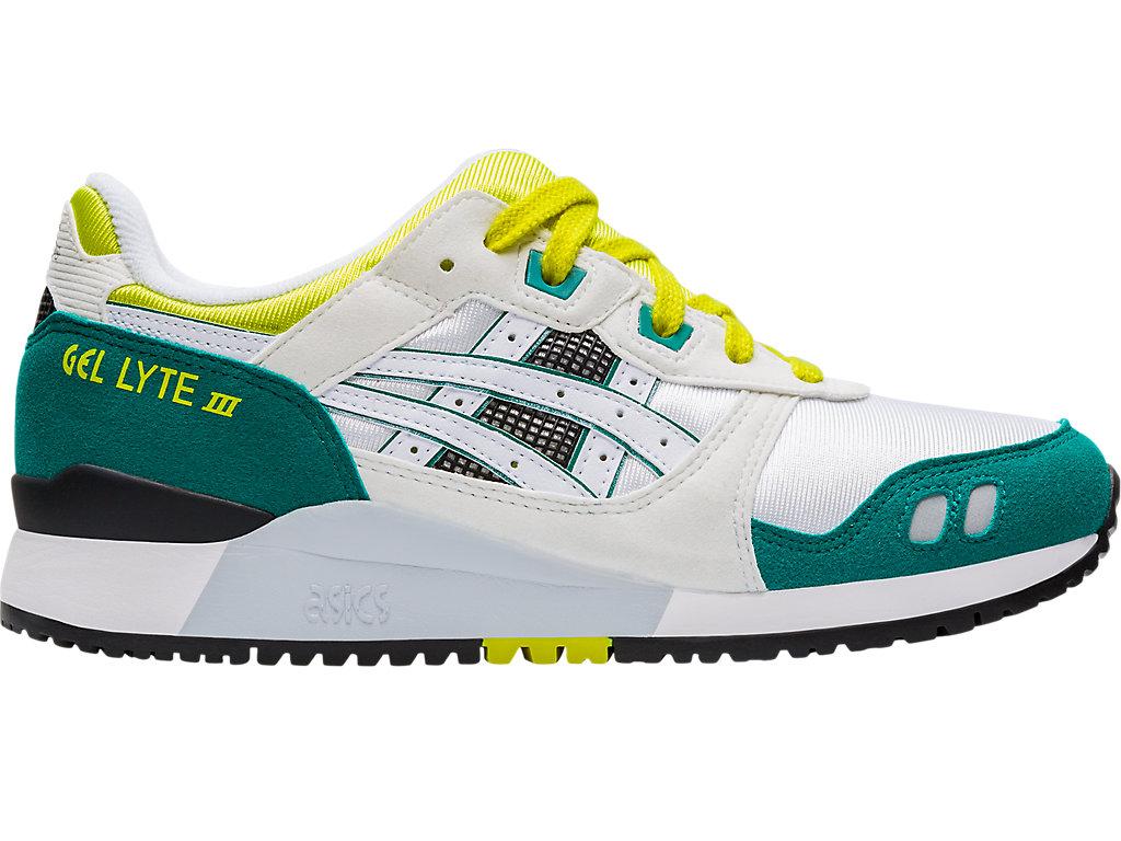 Women's GEL-LYTE III   White/Yellow   Sportstyle   ASICS