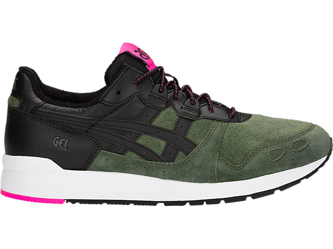 Right side view of GEL-LYTE, FOREST/BLACK